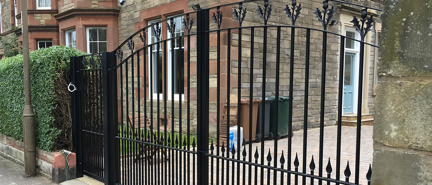 Stirling Road Gates